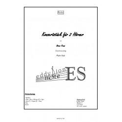 Konzertstück für 2 Hörner...
